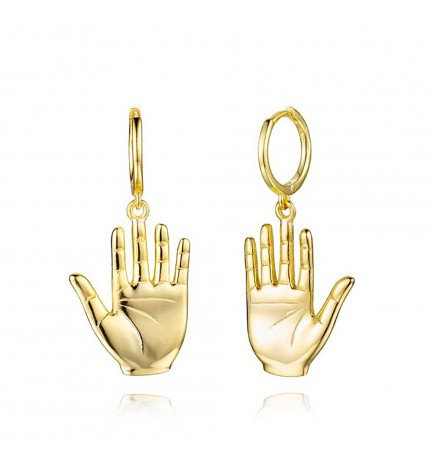 Pendientes Lucky Hand