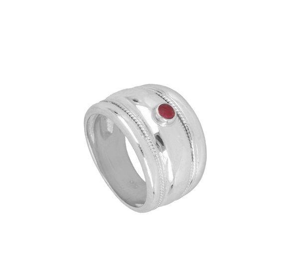 Anillo Reddish Silver
