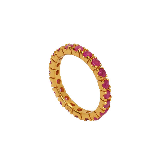 Anillo Thai Ruby