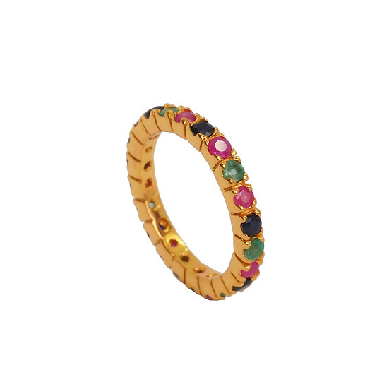 Anillo Thai Rainbow