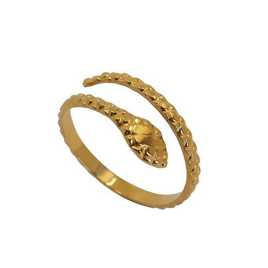 Anillo Golden Boa