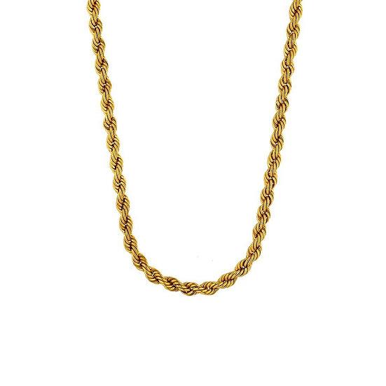 Cadena Twisted Gold