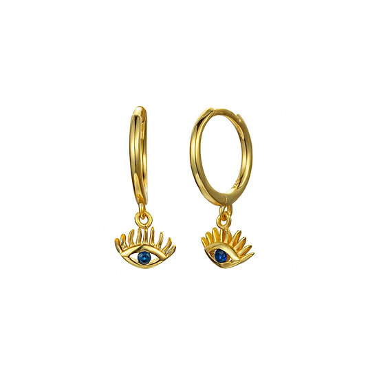 Pendientes Golden Eyes