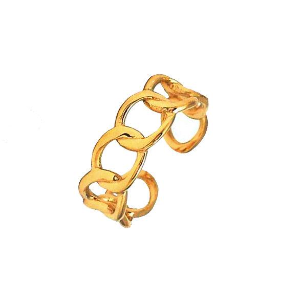 Anillo Versace Gold