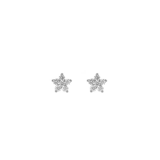 Pendientes Silver Star