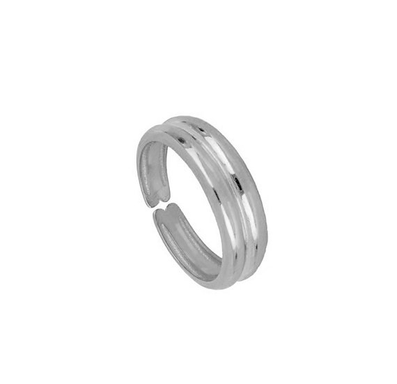 Anillo Simply Grey