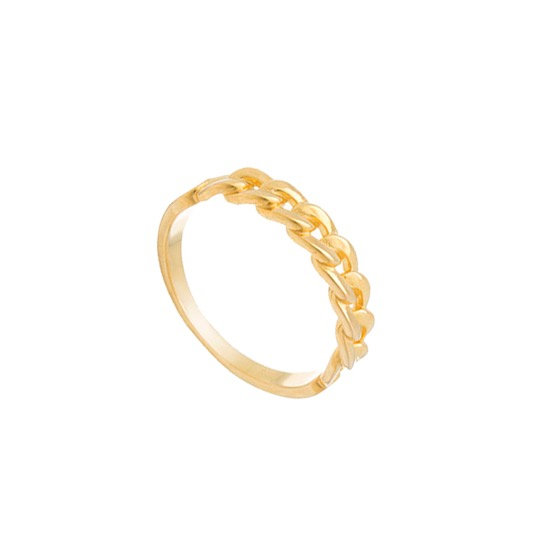 Anillo Golden Chain