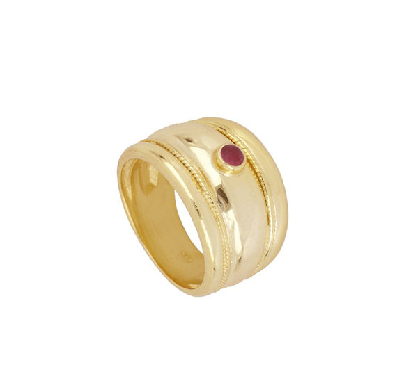Anillo Reddish Gold