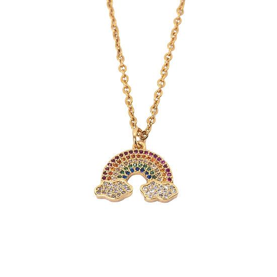 Collar Golden Rainbow