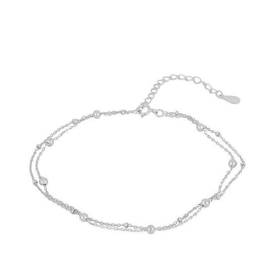 Tobillera Queensland Silver