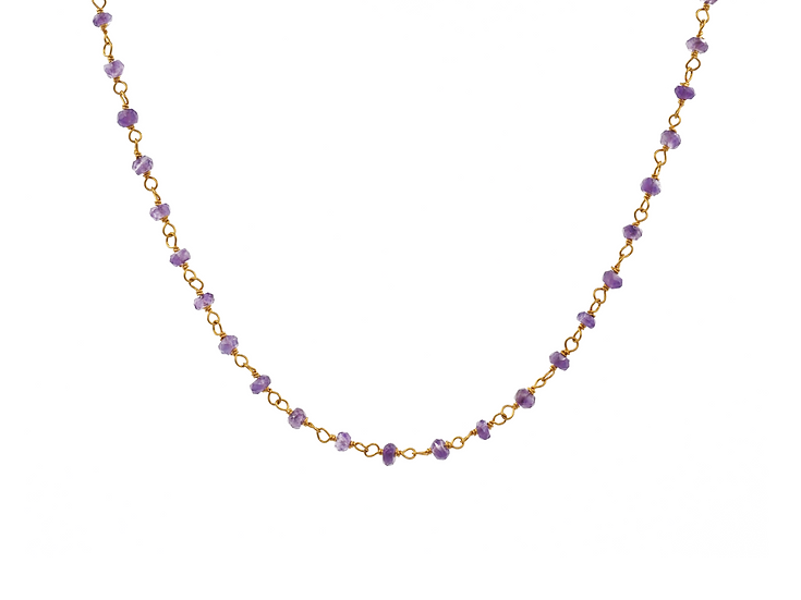 Collar Purple Land