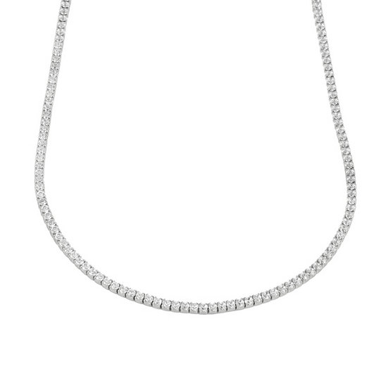 Collar Diamond Silver