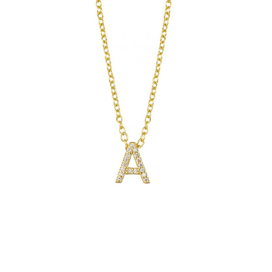 Collar Shiny Letters  (A-N)