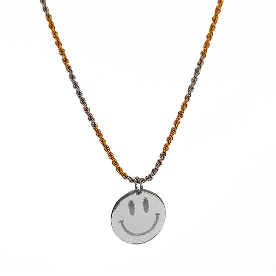 Collar Funky Smiley