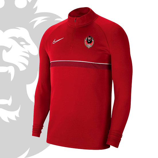 FITZROY LIONS DRI-FIT ACADEMY 21 DRILL TOP - YOUTH