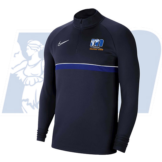 MELBOURNE UNI DRI-FIT ACADEMY 21 DRILL TOP - YOUTH