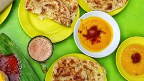 樸實面團之華麗轉身-印度煎餅 (roti canai)