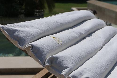Sur-matelas de relaxation BIO aux graines de sarrasin RBORG-03