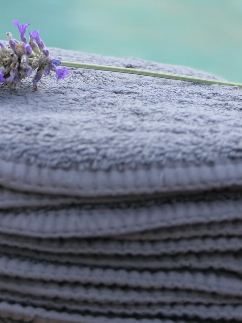 serviette gauffrée