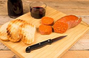 Sobrasada pan y vino Fotolia_50514812_10