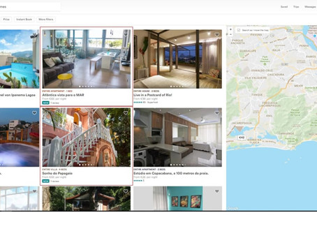 What factors determine how my listing appears in Airbnb search results?