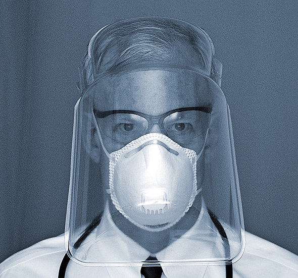 Emergency Face Shield - 130 pack