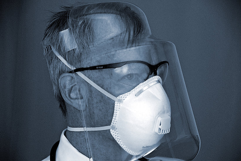 Emergency Face Shield - 30 pack