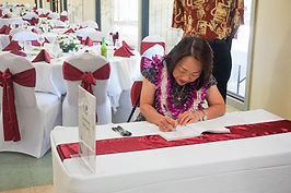 signing the congratulatory book for the new emperor