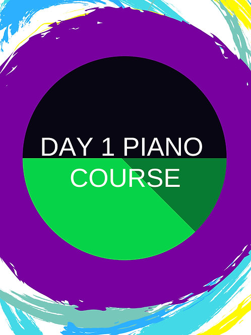 Day 1 Interactive Beginner's Piano Book LITE - 12 month access