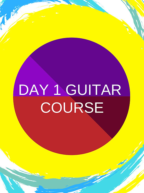 Day 1 Interactive Beginner's Guitar Book - 12 month access