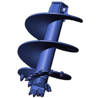 Бур шнековый ШБК-7С, D=400 мм