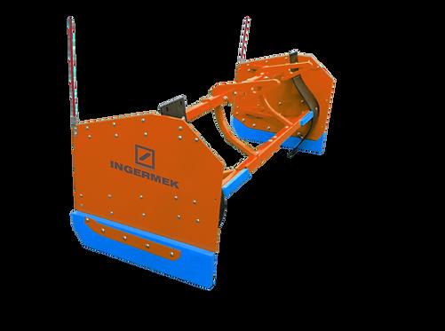 Отвал коммунальный для минипогрузчика INGERMEK LH-2000 M с боковинами
