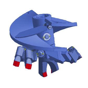 Бур лопастной БЛ-5Г, D=800 мм