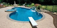 Private Back Yard Pool