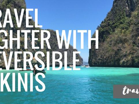 Travel Lighter With Reversible Bikinis