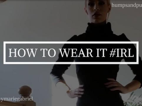 How to Wear It #IRL: Vinyl