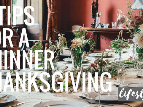 6 Tips for a Thinner Thanksgiving