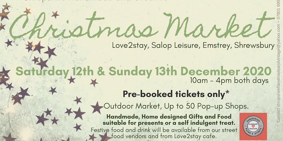 Shropshire Handmade and Creative Christmas Market 2020