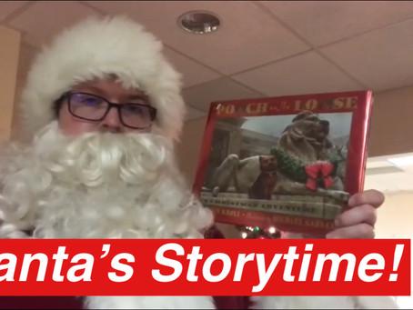 Santa Reads at PMPL!