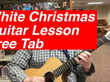 "Joe Teaches and Performs ""White Christmas"""