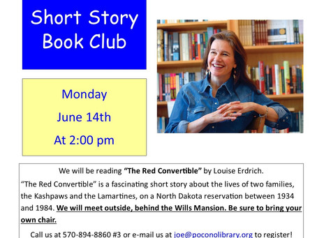 Check Out Our Short Story Club!