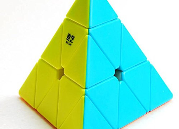 Fashion Link Pyramid Cube 3x3 High Speed Cube