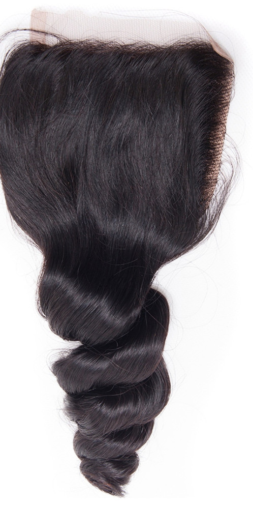 Remy Lace Closures Frontal Hair Extensions Loose Wave Virgin Hair