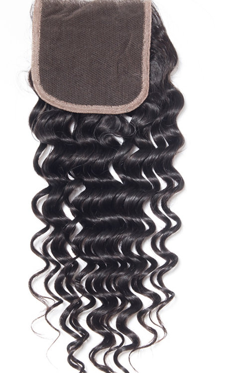 Remy Lace Closures & Frontal Hair Extensions Deep Wave Virgin Hair Extensions