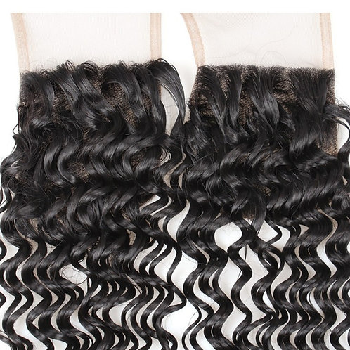 Lace Closures & Frontal Hair Extensions Deep Wave Virgin Hair Extensions