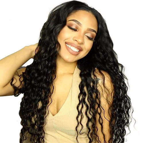 Brazilian Remy Hair Extensions Water Wave Hair Weave Virgin Hair Extensions