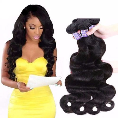 Brazilian Non Remy Hair Extensions Body WaveHair Weave Virgin Hair Extensions