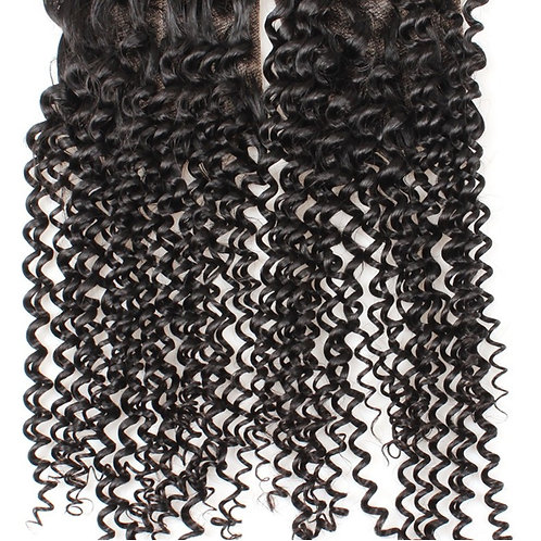 Lace Closures & Frontal Hair Extensions Kinky Curly Virgin Hair Extensions