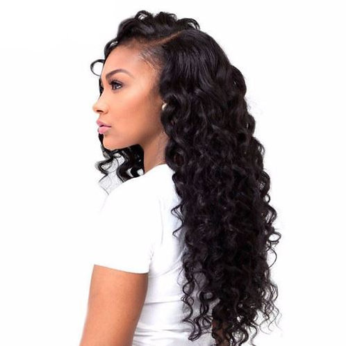 Brazilian Remy Hair Extensions Loose Deep Wave Hair Weave Virgin Hair Extensions