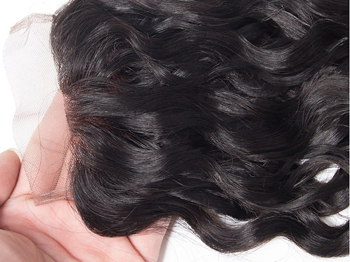 Remy Lace Closures & Frontal Hair Extensions Water Wave Virgin Hair Extensions